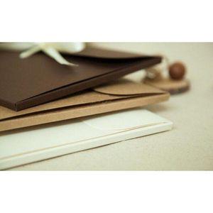 24*18*0.7cm Bow Kraft Paper Pocket Bag Kerchief Handkerchief Silk Scarf Packing Boxes Card Gift Envelope Bo jllnbY mxyard