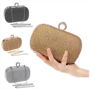 Diamond Evening Day Clutches Bags Bling Bling Shoulder Bag Womens Handbags Wallets Purse for Wedding Party Dinner Date