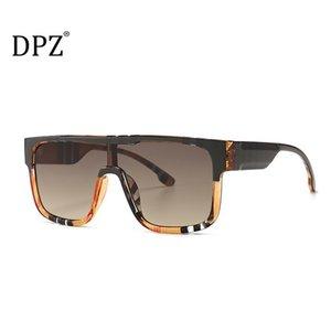 ДПЗ 2020 год сбора винограда способа Прохладный щит Стиль Солнцезащитные очки Женщины Ins Классический Тартан Дизайн кадров Солнцезащитные очки