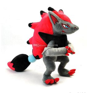 New Zoroark Soft Toy Plush Doll Collection for Kids Holiday Best Gift 12inch 30cm