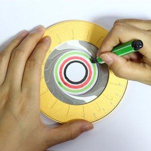 Компас Круглого Регулируемого размера из нержавеющей стали Compas Инструменты рисования Circle Draw столяров Compass Профессионального Циркуль
