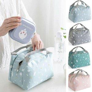 가방 주최자 가족 야외 점심 열 작은 휴대용 절연 쿨러 박스 피크닉 스토리지 운반 tote box1