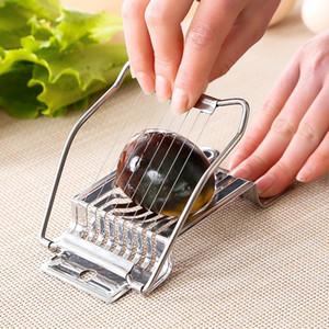 Original Cutter Simple Bequeme Edelstahl Mini Werkzeug Lebensmittel Küche Zubehör Eier Splitter Slicer Speisesaal Neue Ankunft 3 6JX K2