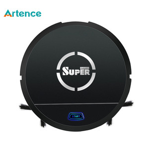 Robot Vacuum Cleaner Robot Vacuum Cleaner Sweep & Wet Mop Simultaneously for Hard Floors & Carpet Run Dust Rational Smart Planned Free