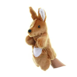 BOLAFYNIA Children Hand Puppet Toys kangaroo hand puppets baby kid plush Stuffed Toy for Christmas birthday gifts