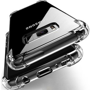 LOVECOM Shockproof Clear Phone Case For Samsung Galaxy S20 A50 A51 A71 A41 S10 S10e S9 S8 Plus Note 10 Soft TPU Phone Back Cover