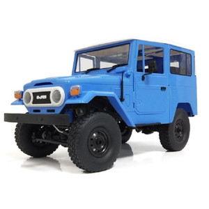 RCtown WPL C34KM 1 16 Metal Edition Kit 4WD 2.4G Buggy Crawler Off Road RC Car 2CH Vehicle Models With Head Light Y200413