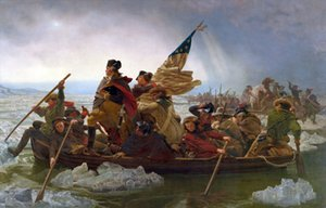 George Washington Crossing the Delaware by Emanuel Leutze Home Decor Oil Painting On Canvas Wall Art Canvas Pictures 201021