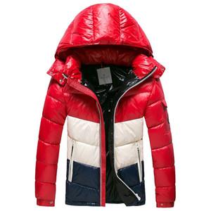 2019 90% piuma d'oca bianca calda Outdoor Sports Down Jacket Uomo cappotto della donna di alta qualità Inverno freddo Outdoor Ski Park