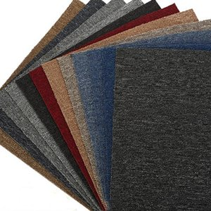 Wholesale 20inch Office Office Splice Tapis Solid Color Tapis pour Hotel Billiard Chambre Asphalte Plancher Tapis de sol Cuisine Tapis de tapis antidérapants EWF2826