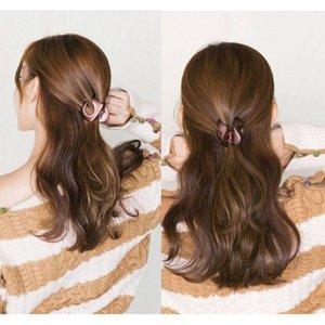 2021 мода мода корейский стиль женщины леди волосы клипы барбута аксессуары для волос когть зажим зажим для волос девушки сплошной цвет волос краб