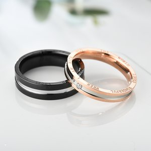 2020 Fashion personality love ring designer fashion all-match diamond ring for men and women luxury atmosphere couple ring jewelry