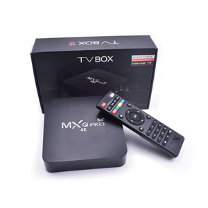 5G WiFi MXQ PRO RK3229 1G 8G 2G 16G Quad Core Android 9.0 TV BOX With 4K Media Player