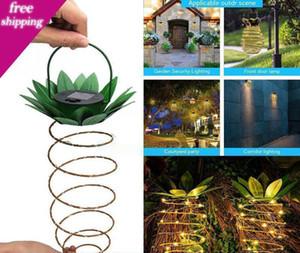 Solar-Ananas-Leuchten LED Stringe Leuchten Hängesolarleuchte 25 Licht im Freien Innen Garten Innenhof Yard Nachtlicht 2V