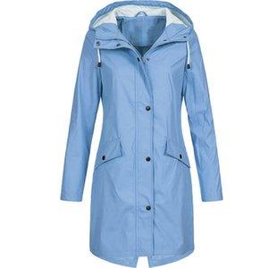 Imper Femmes Imperméables Manteau imperméable Rain Windcoat Bike Taille Plus Veste capa de Chuva Regenhoes Femme Manteaux pluie CC50YY 201016