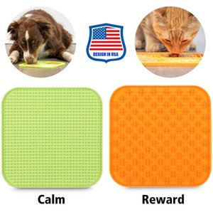 Silikon Pet Yalama Mat Yavaş Gıda Mat Enayi ile Yavaş Gıda Paspaslar Köpek Yavaş Gıda Mat Köpek Malzemeleri YL1427
