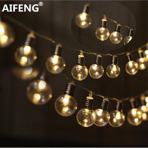 Aifeng 3 Aa Battery Powered Styles Led Globe 20 Bulb Wedding Fairy String Fairy Light Garden Garland Decoration Led String Light Swy sqcnVm