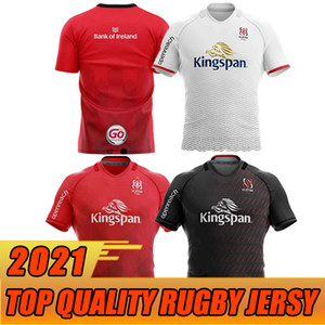 2021 Ulster Rugby Jerseys Home Away Kukri Camiseta Maillot de Rugby Ulster National Rugby League Mens Tamanho S-5XL Top Quality