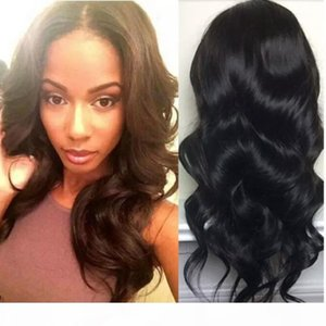 U Part Wig Virgin Hair For Sale Long Body Wave Upart Peruvian Preplucked Glueless U Part Human Hair Wigs For Black Women