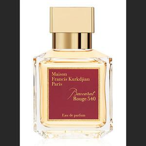 Transparente botella de perfume MFK Baccarat Rouge 540 / Extrait, Oud Satén, La más alta calidad perfumista aerosol parfum Lasting fragancia EDP 70 ml