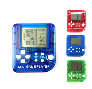 mini game player Handheld Games Consoles Portable Retro Gaming Console Tetris game player Children Toys