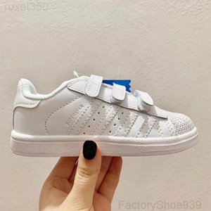 2020 Classic Youth Stan Smith Superstar Kids Girls Child Boys Baby Children Shoes Casual Sport Size 24-35 G9FFR