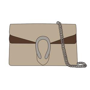 Snake Vintage Brown Leder Frauen Schulter Crossbody Taschen 2020 Neue Mode Designer Kette Umhängetasche Frauen Handtasche