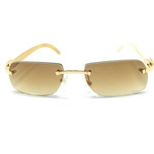 Ienbel Black Friday Buffalo Horn Luxury Carter Keine hölzerne Sonnenbrille, Herns Sonnenbrille