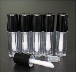 Yüksek Kalite 30 adet 0.8 ml Plastik Dudak Parlatıcı Tüp Sızdırmaz İç Örnek Kozmetik Conta Qylcwc Ile Küçük Ruj Tüpü