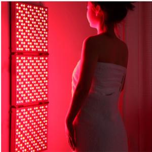 Cuerpo de la lámpara dispositivo terapéutico de Red Panel de 135W luz infrarroja completos de LED infrarrojos plegable deformable cara Reg recimiento Médico en la piel Beatuy
