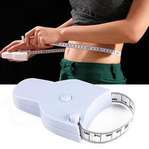 1.5M fitness accurata corpo del compasso del grasso Measuring Tape corpo righello misura di misura di nastro bianco corpo del compasso del grasso Vita Tape Measure DWC2963