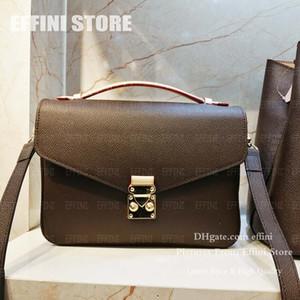 Umhängetasche Luxurys Womens Taschen Designer Handtaschen Geldbörsen Monogramm Tote Hohe Qualität Mode Echtes Leder Damen Crossbody Bags M40780