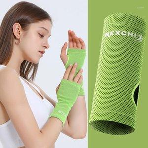 2020 Дышащая напятивная скобка поддержки ледяной охлаждающий теннисный браслет Wrap Sport Spirtband для тренажерного зала Yoga волейбол ручной пот полоса1
