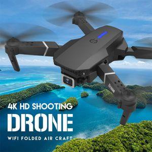 E525 Quadcopter Professional 4K RC Drone HD 1080P Камера WiFi FPV Высота поддержания RC Складной Quadcopter Drone Рождественский подарок W1222