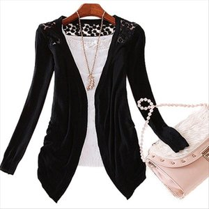 Bluelans Lady Korean Style Candy Color Crochet Knit Top Coat Sweater Cardigan Summer Crochet Blouse Drop Shipping