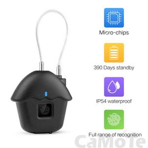 Door Fingerprint Lock Door Smart Charge Waterproof Lock WithTouch Keyless Lock Safe