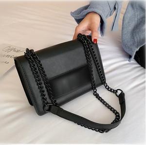 Новый дизайнерская мода цепь одно плечевой клатч большая буква мессенджер сцепления вечеринка вечерняя сумка дешево