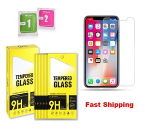 0.33mm Screen Protector Saver for iPhone 12 Mini Pro Max 11 XS X XR 8 7 6 Plus Tempered Glass Cover Guard With Paper Retail Package
