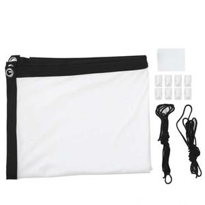 16: 9 PROJECTION Tenda Portable Projector Screen Video Movie Indoor Outdoor per la casa