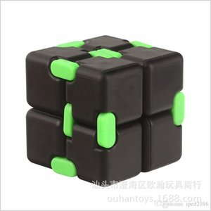 Best Infinity Cube Fidget Cube Plastic Material With Plating 35g Decompression Toy Novelty Gag Toys Ship By DHL