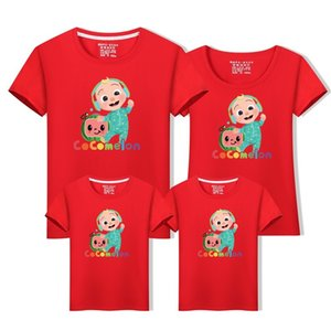 New 8color Cute Cocomelon Shirt Family Matching T-shirt Tee - JJ Design T Shirt C1226