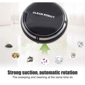 Fashion Mini Cartoon Rechargeable Smart Sweeping Robot Slim Sweep Suction Machine Small Mini Vacuum jllgas sinabag