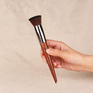 buffer blush brush 154 Flat Tip Blusher Powder Foundation Makeup Brush Beauty Cosmetics Blender Tools