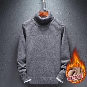 Hombre Plus Talla Turtelneck Sweater Sweater Puro PURO PULTULERS METROOVERS High Liner Winter Liner Juvenil Guapo Slim Ropa
