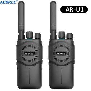 2PCS ABBREE AR-U1 10KM Long Range Powerful Walkie Talkie Portable CB 5W UHF 400-470MHz Ham Amateur Two Way Radio1