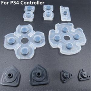 Syylech Бесплатная Доставка 9 ШТ. В 1 Набор Мягкий контроллер Проводящие силиконовые резиновые накладки для PlayStation 4 PS4 Кнопки Ремонтные детали
