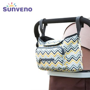 Sunveno Baby-Kinderwagen Tasche Organizer wasserdichte Windel Windelschuhe Kinderwagen Zubehör Baby Taschen für MOM 201120