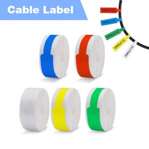 NiiMbot Jingchen cable label for D11 thermal printer bluetooth printer thermal label paper use for generator room office