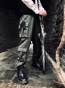 2020 American Europe Mens Pantaloni da uomo Classic Work Street Viaggi Pantaloni SweatPants Bussola Ricamo Confortevole Quattro Pantaloni tascabili di alta qualità