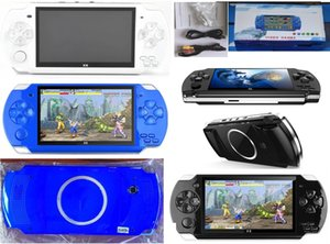 8GB PMP X6 Handheld Game Console Screen 4.3 inch For PSP Game Store Classic Games TV Output Portable Video Game Player
